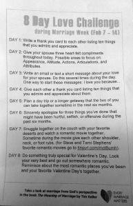Love Challenge